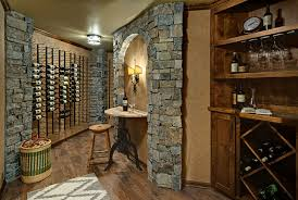 Unfinished Basement Space Becomes A Rustic Wine Room StarTribunecom - Ununfinished basement before and after