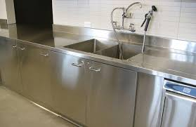 image of satinless steel commercial kitchen sink