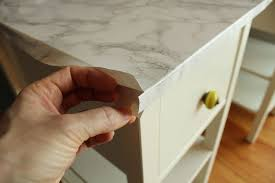 Contact Paper Designs Diy Nightstand Upgrade With Marble Contact Paper