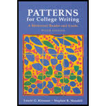 College Writing Skills with Readings   eBay as well College Patterns For Writing   Searchub as well Getting Started   MLA   How to Cite the Textbook  Patterns for also Patterns for College Writing   Audio Books   eBook Downloads further  as well Patterns for College Writing 10e   Writing and Revising likewise  as well  besides  additionally Patterns for College Writing  Chapter 1  pp 13 60    ppt video also . on latest patterns for college writing