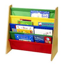 Wooden Book Display Stand Children' Sling Bookshelf Wood Book Display Stand Shelf Books 67