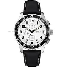 "men s guess mission chronograph watch w14546g1 watch shop comâ""¢ mens guess mission chronograph watch w14546g1"