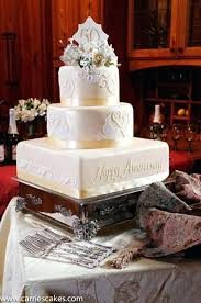 50th Wedding Anniversary Cakes Decorations Mags On Parents Ieom