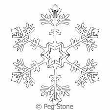 Snowflake 8   Peg Stone   Digitized Quilting Designs & Digital Quilting Design Snowflake 8 by Peg Stone. Adamdwight.com