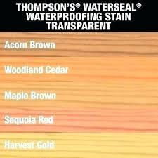 Thompson Water Seal Application Creativeimagination Co