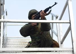 Снайперы российской военной базы в Абхазии поражали условных  Военнослужащие снайперских подразделений российской военной базы в Абхазии в рамках выполнения упражнений контрольных стрельб поразили около 200