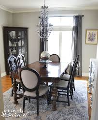 ornate dining room table and chairs. i will break down all the individual projects in future posts \u2013 my dining room table, (painted) chairs and buffet, wall art as well post a tutorial for ornate table h