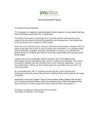 faculty cover letters faculty cover letter