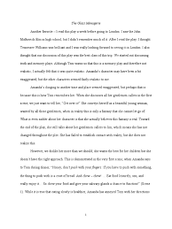 the glass menagerie essay topics an essay for the glass menageriepdf erik the phantom of the