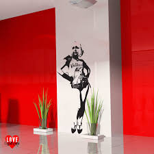 debbie harry of blon lifesize silhouette wall art sticker