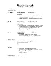 A Good Resume Outline Free Sample Examples For Resumes Resume With A