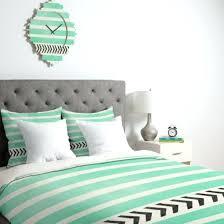 mint bedding green single chevron set queen