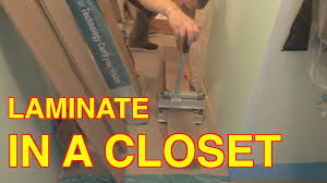 diy laminate flooring installation how to pass a closet without transitions mryoucandoityourself