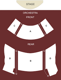 Broadway Playhouse Chicago Il Seating Chart Stage