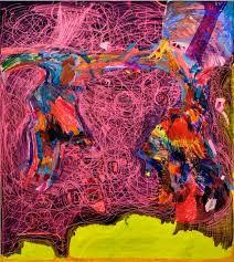 joanne greenbaum untitled 2016 90 x 80 inches courtesy the artist and