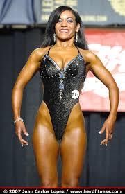 Priscilla Shaw - onepiece - 2007 NPC Jr. Nationals