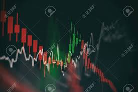 Stock Market Chart Business Graph Background Forex Trading
