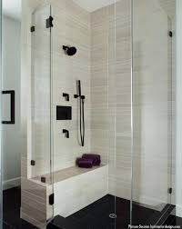 curved tile built in shower bench ideas pros and cons