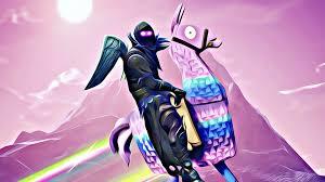 Raven Riding Llama Fortnite Battle ...