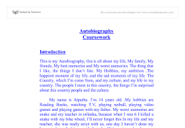 autobiography college essay example autobiography college essay  examples of autobiography essay autobiography college essay example