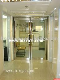 double leaf fire rated glass door china doors for