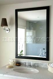 black framed bathroom mirrors. Framed Vanity Mirrors Large Black Mirror Stunning Design Ideas Above Bathroom I