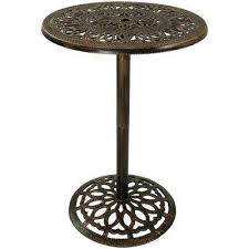 40 in cast iron bar height patio outdoor round high top pub table