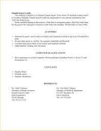 11 Resume Reference Template Formal Letter