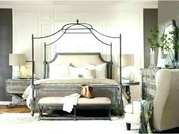 Chrome Canopy Bed King Size Metal Canopy Bed King Size Canopy Bed ...