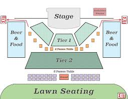 Billy Bobs Seating Chart Seating Balsam Valley Amphitheater