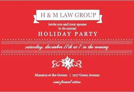 Company Christmas Party Invite Template Holiday Luncheon Invitation Templates Inspiring Holiday Party