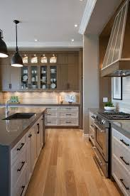 transitional kitchen ideas. I Like The Transitional Cabinet Design, And Interesting Use Of White Lowers, Beige Uppers Kitchen Ideas E