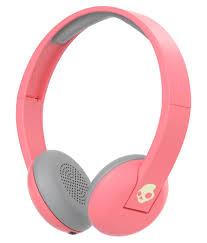 skullcandy uproar surjw on ear wireless headphone mic skullcandy uproar s5urjw 557 on ear wireless headphone mic pink