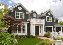 black houses home exterior paint ideas black shingle board house