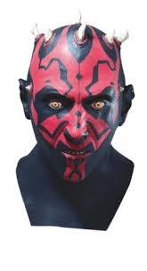 rubie s star wars darth maul latex mask