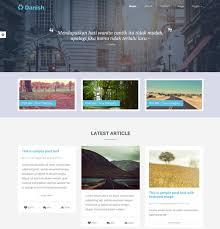 Blog Website Templates Custom 28 Bootstrap Blog Themes Templates Free Premium Templates