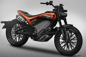 updated electric motorcycle concept