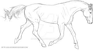 trotting horse drawing. Perfect Trotting Trotting Horse Lines NOT AVAILABLE FOR USE By Wideturn  On Drawing N