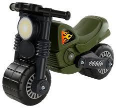 Купить Каталка-толокар <b>Wader Моторбайк военный</b> (49308 ...