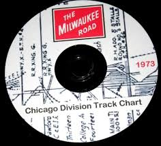 Milwaukee Road Track Charts Milwaukee Road Railroad Chicago Division Track Chart Pdf