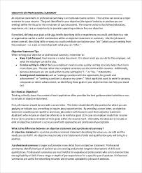 What To Put In The Objective Section Of A Resume what to type in the objective section of a resumes Tolg 97