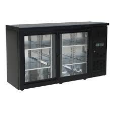 350l 2 door under counter beer fridge