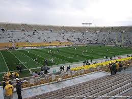 Notre Dame Stadium View From Lower Level 30 Vivid Seats