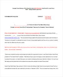 sample press release template 22 press release template free sample example format free