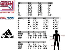 Adidas Soccer Pants Size Chart Adidas Girls Size Chart Www Bedowntowndaytona Com