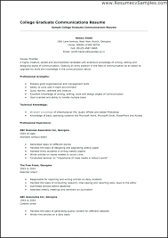 Resume Profile For College Student Resume Template For College Student Applying For Internship