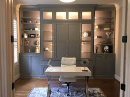 Office built in Wall Edgewood Custom Cabinetry Home Office Raleigh Nc Edgewood Cabinetry Home Office Library Custom Cabinet Raleigh Triangle Edgewood