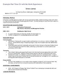 Job Resume Templates Inspiration Resume Templates Objective Student Job Resume Sample First Part Time