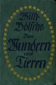 Das habe ich verstanden, herr bartsch. The Project Gutenberg Ebook Of Von Wundern Und Tieren By Wilhelm Bolsche