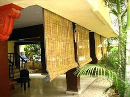 outdoor bamboo curtains hanging for outdoors porch patio remarkable whole outdoor bamboo curtains